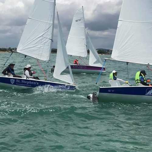 Pattaya adaptive sailboats