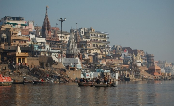 Пара дней в загробном мире. Фото Варанаси, Индия