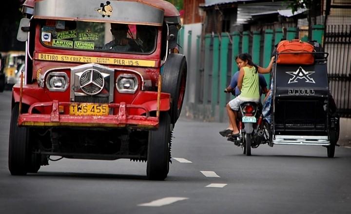 Гроза филиппинских дорог - Джипни!