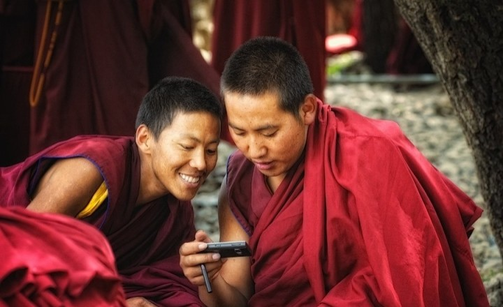 Путешествие в загадочный Тибет. Монахи. part 2