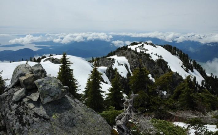 Deeks Peak на День Канады