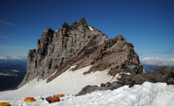 Mt Rainier - день первый