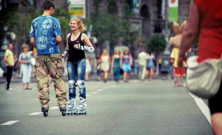 Лето. Жара. Киев.