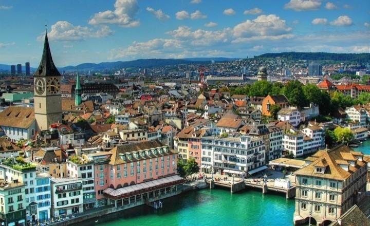 Фотографии городов с высоты