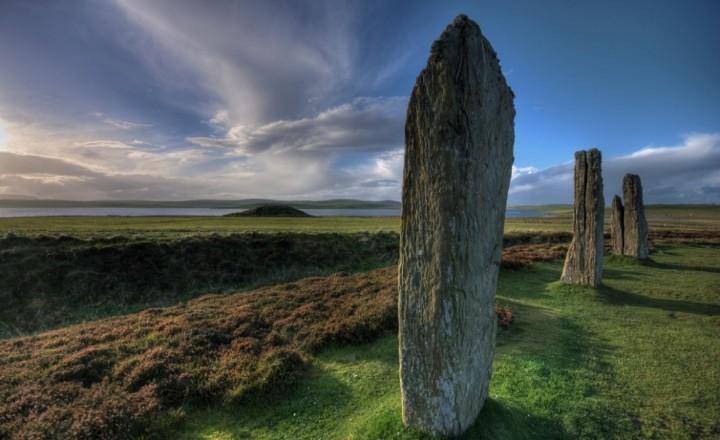 Оркнейские острова в Шотландии
