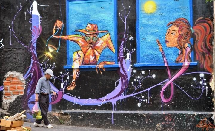 Уличное искусство Бразилии. Вступление.