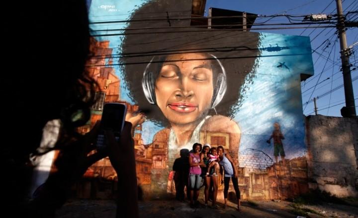 Уличное искусство Бразилии