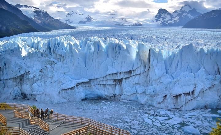 Ледник Перито Морено и его обитатели