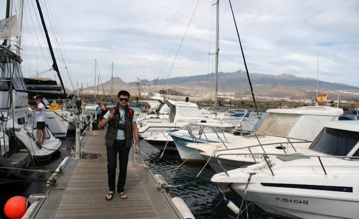 Долгие зимние каникулы, день шестой. Тенерифе, яхтинг.