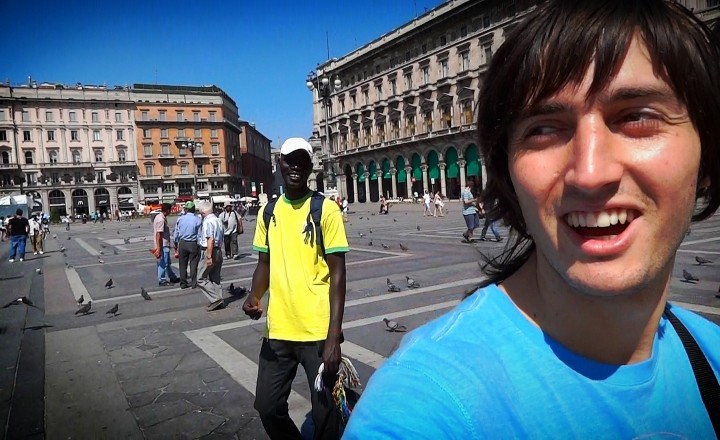 Путешествие по Европе. День четвертый - Италия