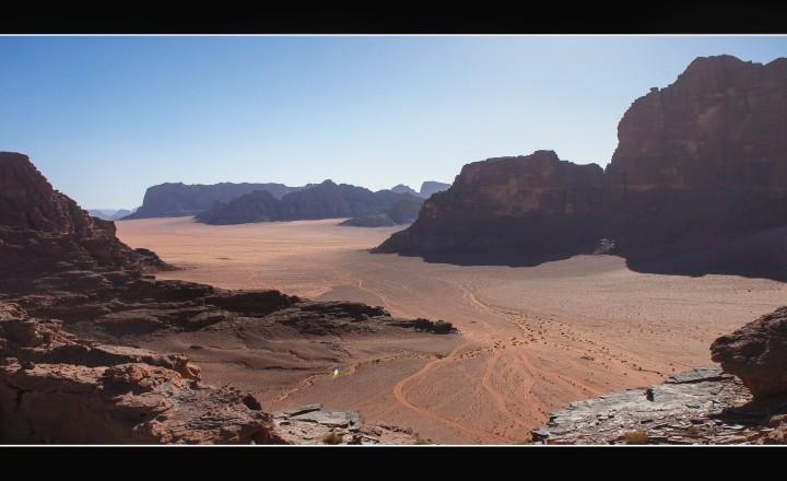 Иордания. Часть I: Лунная долина ( وادي رم) пустыня Вади-Рам.