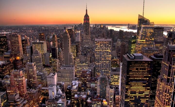 Манхеттен в движении