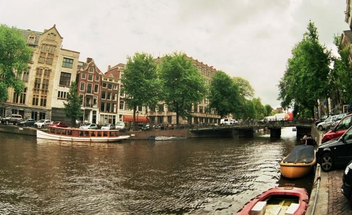Амстердам - Гданьск на яхте. Амстердам, собссно!