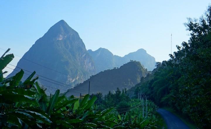 В Лаос...