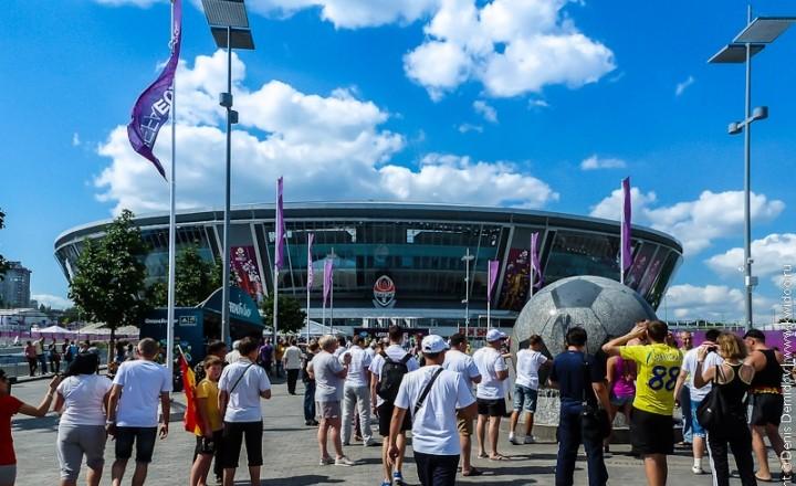 Полуфинал ЧЕ-2012 в Донецке глазами туриста
