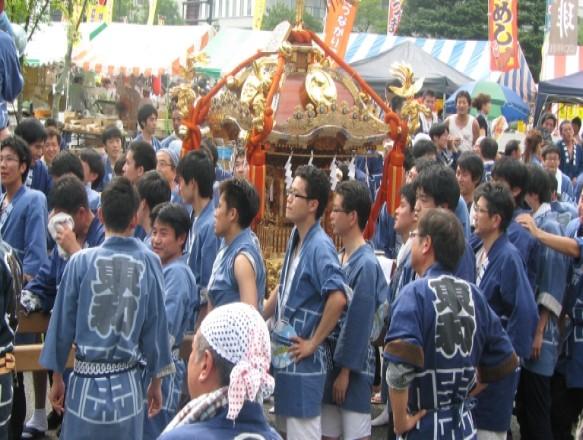 Летние фестивали в Японии