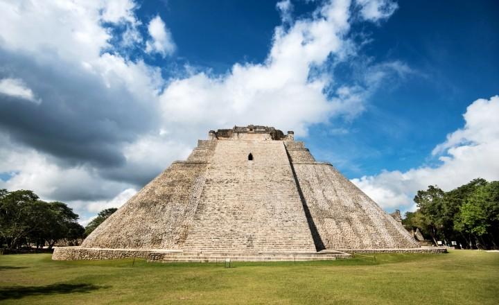 Ушмаль - живой город древних индейцев майя