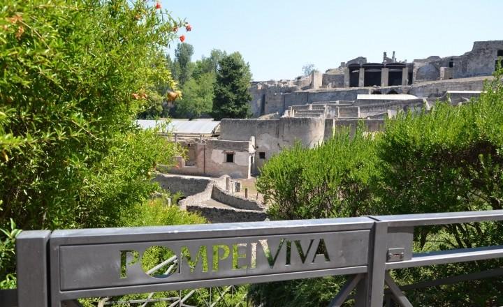 Помпеи - в плену у вулкана Везувий