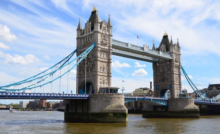 Лондон - столица Великой Британии. Часть 1. Мосты города
