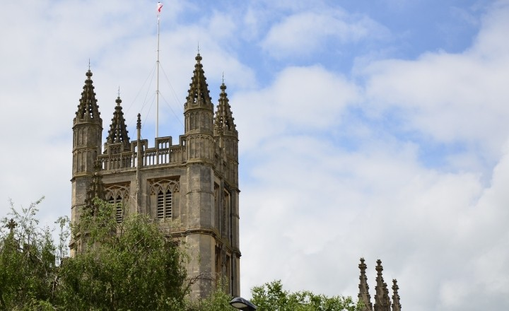 Английский Бат - город Всемирного Наследия ЮНЕСКО