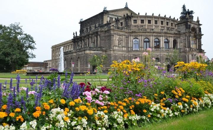 Германия. Дрезден - город, восставший из руин