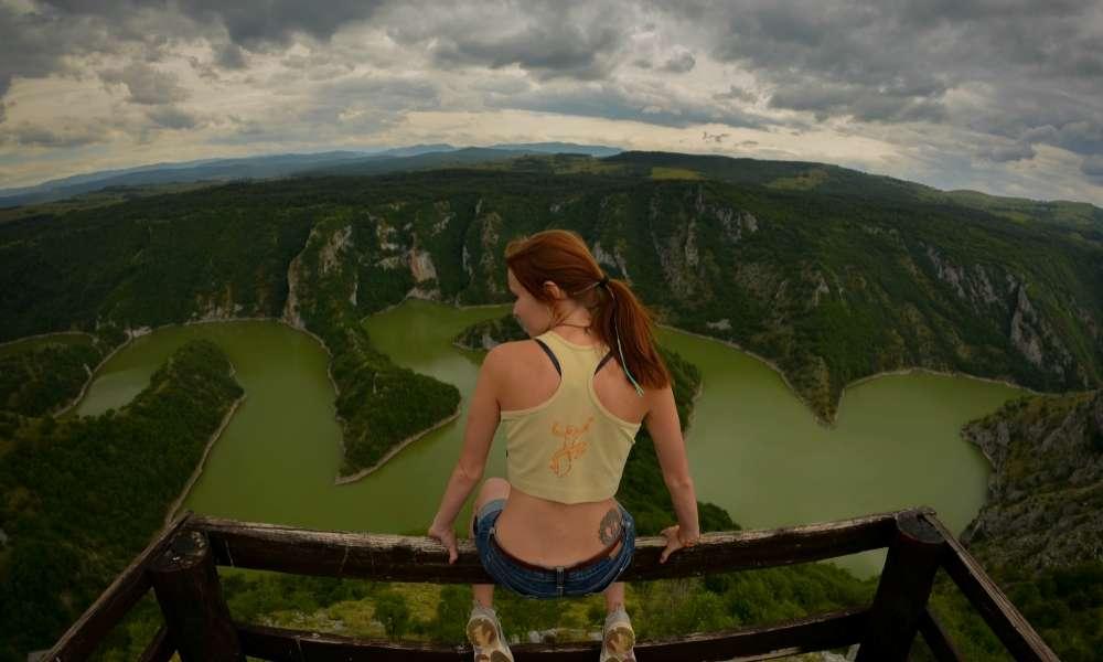 Каньон реки Увац (Сербия)