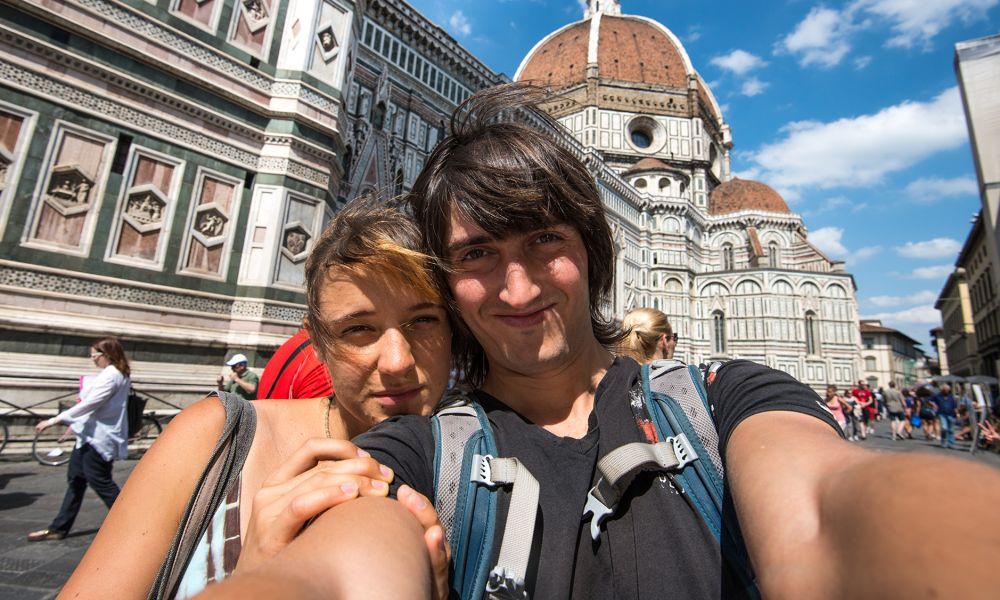 Прогулка по Флоренции в рваных штанах