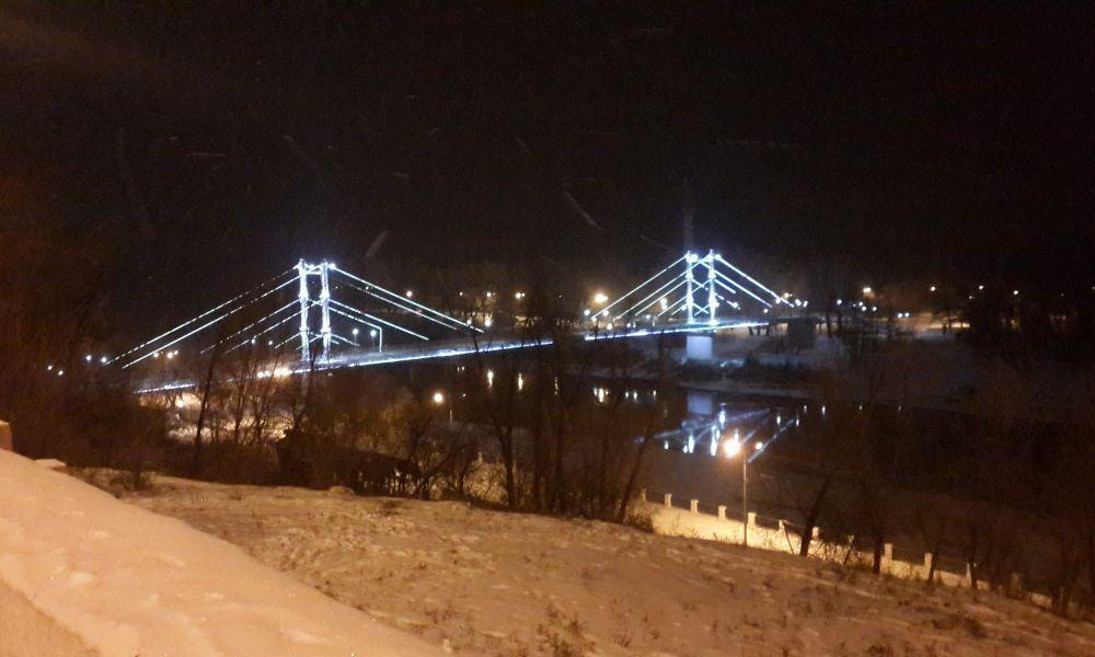 Зимний Оренбург