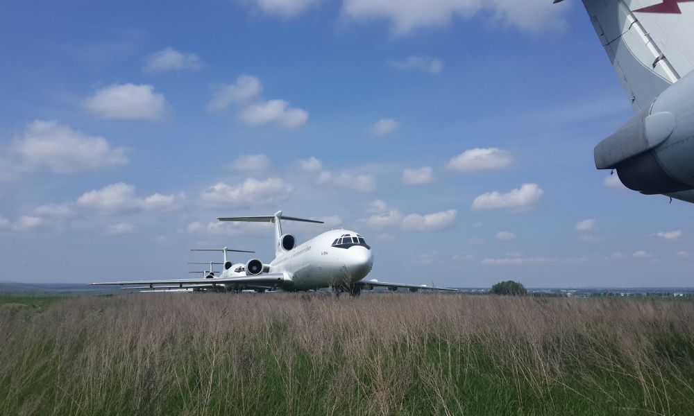 Там, где спят самолеты