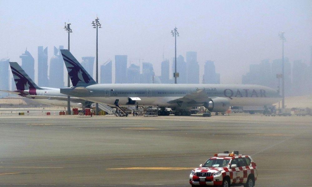Пересадка в Дохе