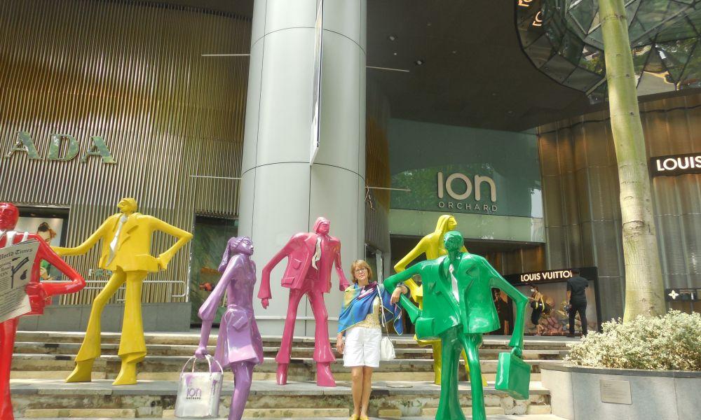 Сингапур!!! день четвертый - Orchard Road и световое шоу.