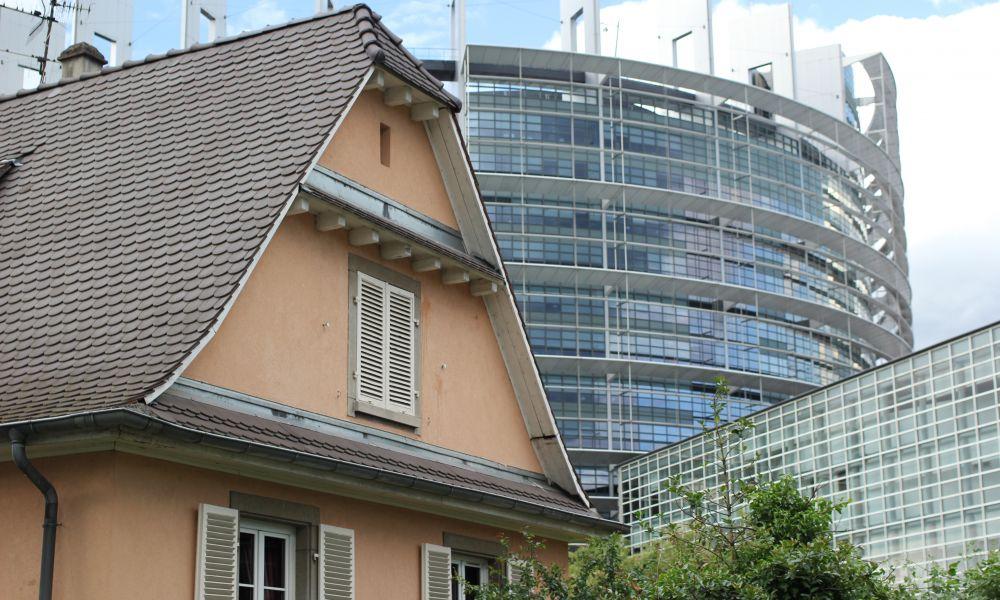 Страсбург - Современный