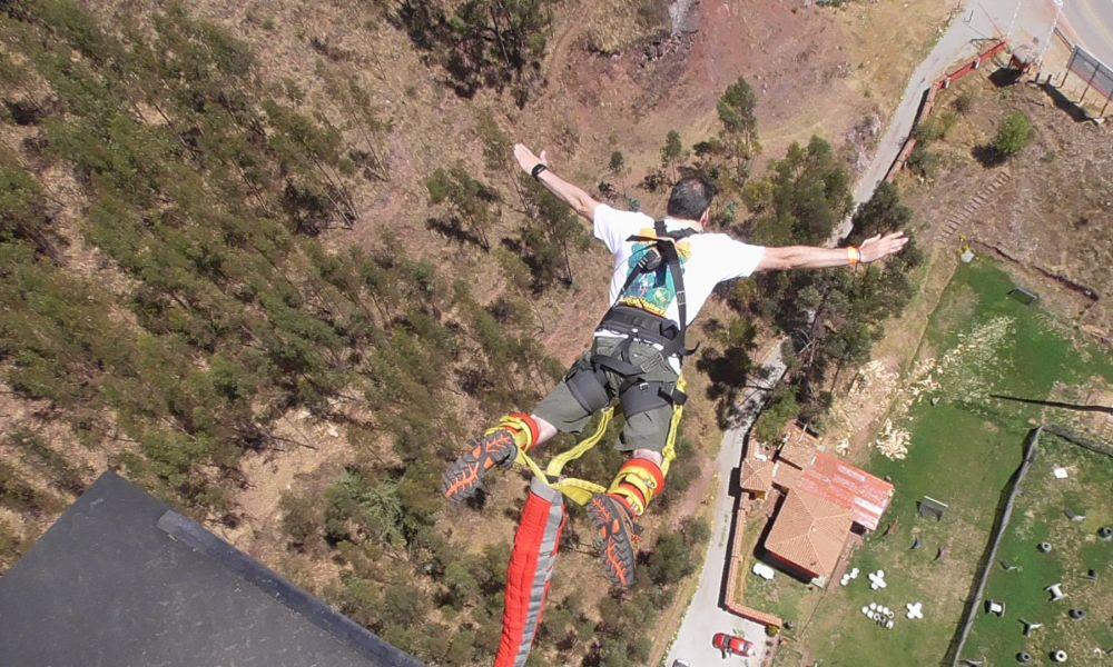 Мечты камикадзе сбылись — My first Bungee Jump in Cusco