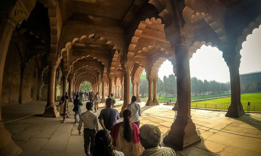 Индия( Дели:Красный форт,Джама Масджид )